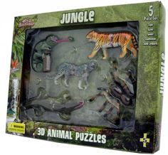 Jungle 3D Puzzle Set at theBIGzoo.com, a toy store with over 12,000 products.