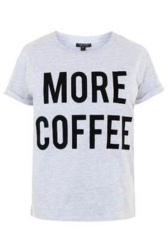 Must have - Statement Pyjama-T-Shirt, das mir nicht nur am Morgen aus der Seele spricht.