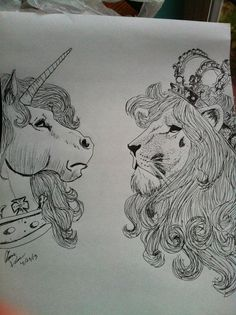 Unicorn & Lion