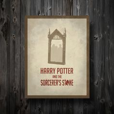 Harry Potter Inspired Movie Poster Sorcerer's by EntropyTradingCo, $13.99