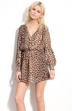 Parker faux wrap silk dress from Nordstrom.  Adorable...calling my name.  Quite literally:)