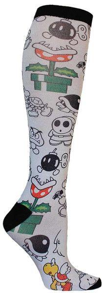 Nintendo Knee High Socks