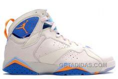 40f6d896d61ad5 Air JD 7 (VII) Retro-Pearl White   Bright Ceramic-Pacific Blue 304775-281  For Sale 2W3BTTy