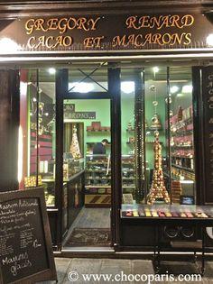 Gregory Renard Cacao et Macarons Paris