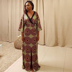 Checkout these current fashion of maxi ankara dress styles