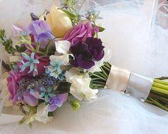 bouquet viola e lilla