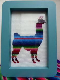 Hey, I found this really awesome Etsy listing at https://www.etsy.com/listing/174810234/cross-stitch-pdf-lenny-the-llama-cross