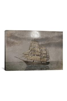 Night Journey Gallery Wrapped Canvas Print on @HauteLook