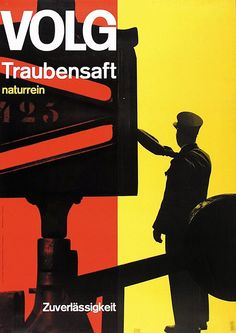 Müller-Brockmann _ Volg Traubensaft (1957)