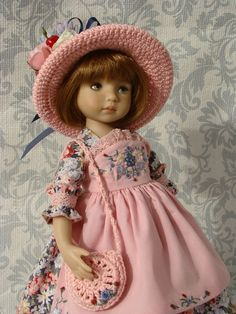 "Outfit for doll 13"" Little Darling by Dianna Effner #DiannaEffner"