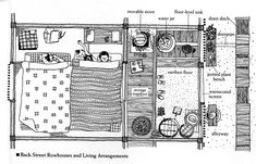 Courtesy of Azby Brown. Brown and Tomoyuki Utsumi have co-authored a book on very small houses in Japan, where there's a long history of making the best use out of very, very little space. Japanese Bedroom, Japanese Interior, Japanese Design, Traditional Japanese House, Japanese Tea House, Washitsu, Japanese Buildings, Tatami Room, Asian Architecture