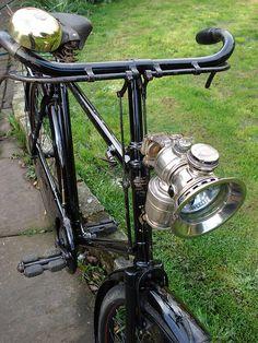 1924 royal sunbeam vintage cycle bike by chopperwazza, via Flickr