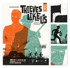 House Theatre Theives Like Us Poster