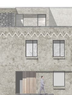 McLaren Excell is an ambitious and energetic design-led architecture practice based in Marylebone, Central London. Detail Architecture, Brick Architecture, Architecture Visualization, Architecture Graphics, Architecture Portfolio, Architecture Drawings, Architecture Diagrams, Brick Rendering, Planer Layout