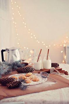 Home baked Christmas treats.