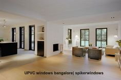 Facing the chilly winds ?? Install #UPVC #Windows to keep your place warm.