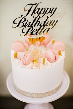 Modern Pink & Gold Birthday Party