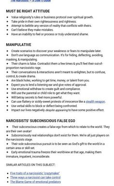4. Signs and traits of a narcissistic sociopath. A recovery from narcissistic sociopath relationship abuse. by AislingH
