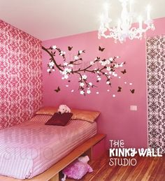 tree decal girl-s-room