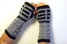 Dalek inspired.      #Dalek #DoctorWho #gloves