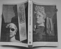 Sottomissione di Houellebecq con copertina di De Chirico fatta in casa.