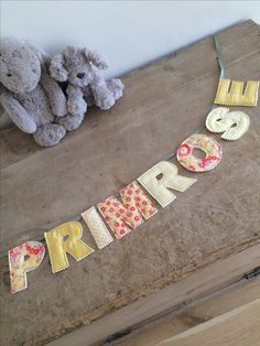🌺🌼🌸PRIMROSE🌸🌼🌺 Personalised name bunting, perfect for new baby gifts.