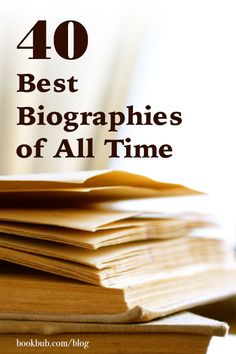 On the hunt for nonfiction books to read next? Check out this list of great biographies. #biographies #books #readinglist