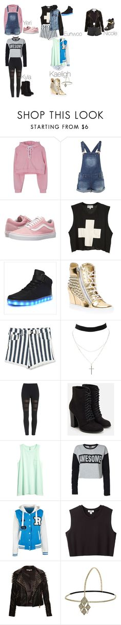 """""""6TEEN"""" by keeliewatsonoffical ❤ liked on Polyvore featuring Vans, Wildfox, Giuseppe Zanotti, H&M, Charlotte Russe, JustFab, ONLY, Nomia and Miss Selfridge"""