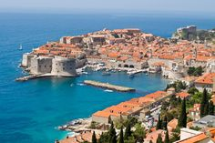 Dubrovnik is the one of the most beautiful and best medieval towns of the Mediterranean. Rich of history and monuments. Visit the Old Town of Dubrovnik; see the walled city and other beautiful places.Meet your guide at the entrance in Old City, explo The Places Youll Go, Oh The Places You'll Go, Places To Visit, Dream Vacations, Vacation Spots, Croatia Pictures, Croatia Travel Guide, Croatia Destinations, Vacation