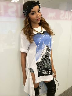 tinashe in hood by air