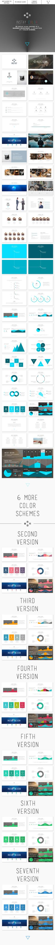 Instay Color  (PowerPoint Templates)