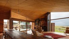 John Wardle Architects designed Shearers Quarters, which is located on Bruny Island, Tasmania, Australia.