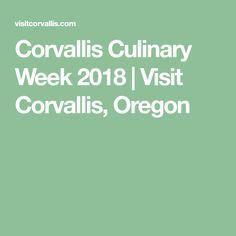 Corvallis Culinary Week 2018   Visit Corvallis, Oregon