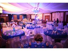 Navy and White Wonderland Wedding at the Marco Davao Hotel, Philipines