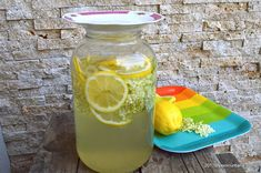 Refreshing Drinks, Cantaloupe, Juice, Deserts, Cocktails, Cooking Recipes, Jar, Homemade, Fruit