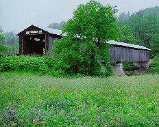 Lancaster Bridge West of N.H. Route 135 on South Lancaster Road West of Lancaster Village spanning the Connecticut River between Lancaster, N.H. and Lunenburg, Vt. Style of Bridge: Howe truss Year of Construction: 1911