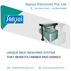 Unique milk weighing system that benefits farmer and dairies- www.sansuiscale.com #Electronicsmilkweighers  #Milkweighingscales  #Digitalmilkweighers Jewelry Scale, Weighing Scale, Farmer, Milk, Electronics, Unique, Scale, Farmers, Virgos