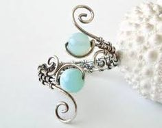 Opal Wire Ring, Aqua Wire Wrapped Ring, Adjustable, Oxidized Sterling Silver Wire Weave Ring Peruanischer Opal Drahtring Aqua Draht von BellaAnelaJewelryAdjustment Adjustment may refer to: Wire Jewelry, Jewelry Crafts, Jewelry Box, Jewelry Accessories, Handmade Jewelry, Jewelry Design, Jewelry Making, Wire Earrings, Jewlery