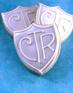ctr cookies - perfect for a baptism!