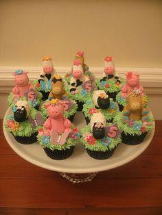 Farm party fazendinha festa doce cupcakes All About Campinas