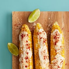 Grilled Elote Recipe : Target Recipes- going to try veganaise and Greek yogurt as subs for mayo and sour cream