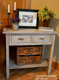 Revamped Sofa Table