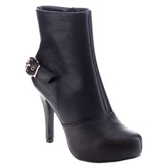 I Heart Collection Nicole-05 Women's Almond Toe Stiletto Heel Ankle Booties