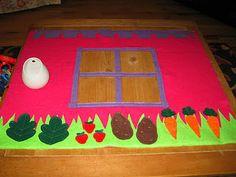 Card Table Felt Playhouse Tutorial