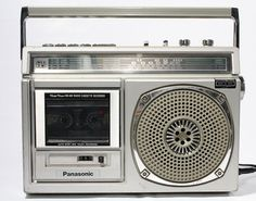Panasonic AM/FM Radio Cassette Recorder Boombox, $82