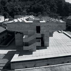 Technical school, Santos, Brazil - 1963 Decio Tozzi