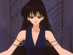 "Hotaru even looked awesome when she was evil. | Community Post: 24 Times The Fashion In ""Sailor Moon"" Was On Point"