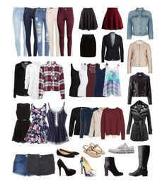 year round capsule wardrobe - 37 pieces !