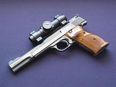 Smith & Wesson model 41, .22 caliber, semi-automatic