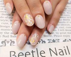 Nail Art - Beetle Nail : 八幡|ホイルエスニックアート  #ネイル #ビートル近江八幡 #ビートルネイル #ネイル近江八幡